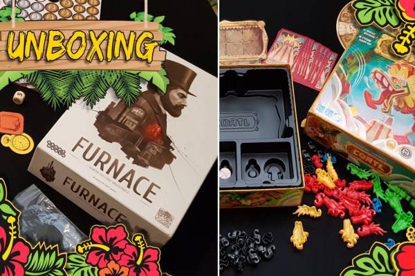 Coatl & Furnace – Unboxing