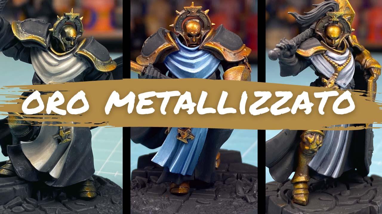 Kiki's Miniatures Mania – Come dare più volume all'oro metallizzato