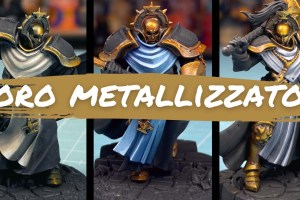 Kiki's Miniatures Mania – Come dare più volume all'oro metallizzato