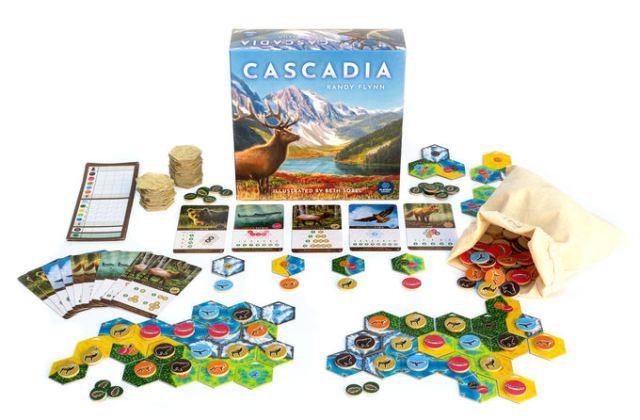 Cascadia - materiali