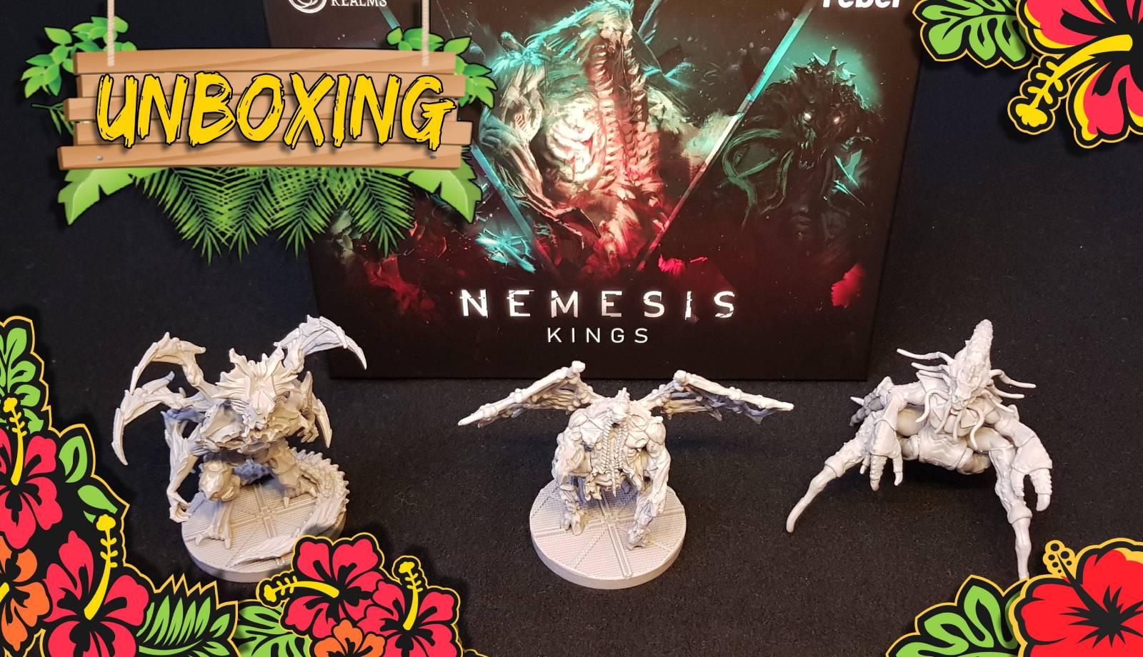 Nemesis Terrain, Space Cats e Kings – Unboxing