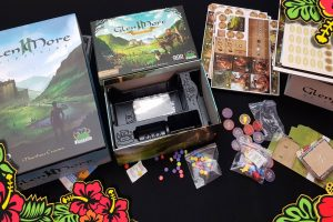 Glen More II Chronicles + Highland Games – Unboxing