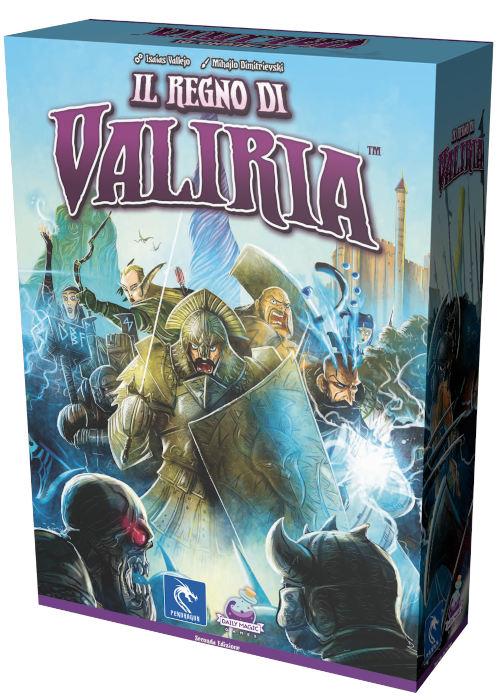 Il regno di Valiria - scatola