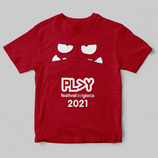 Play 2021 - Maglietta rossa
