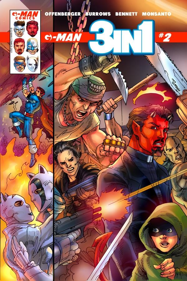 G-Man Comics 3 en 1 # 2 - Pontik® Radio