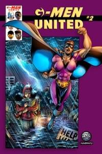 G-Man Comics United # 2 - variante portada - Pontik® Radio