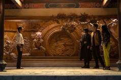 Wenwu (Tony Leung), Xialing (Meng'er Zhang), Shang-Chi (Simu Liu) and Katy (Awkwafina)