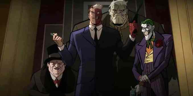 Two Faces - Batman: The Long Halloween Part Two