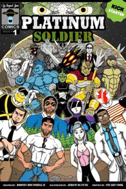 Platinum Soldier - Comic Distro - Pontik® Geek