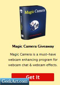 Magic Camera Giveaway