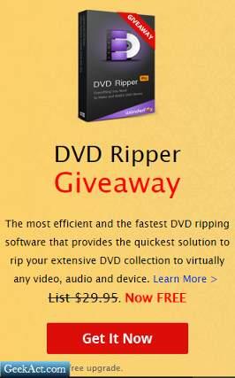 WonderFox DVD Ripper Giveaway