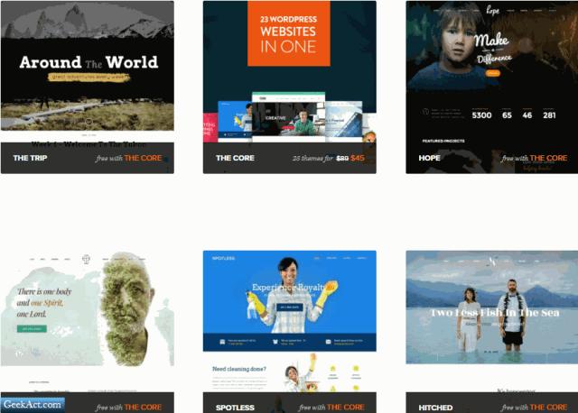 themefuse core wordpress themes