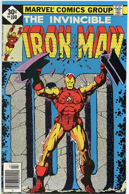 In the world of comic covers, there are giant stone numbers just laying around, waiting to be posed in front of.