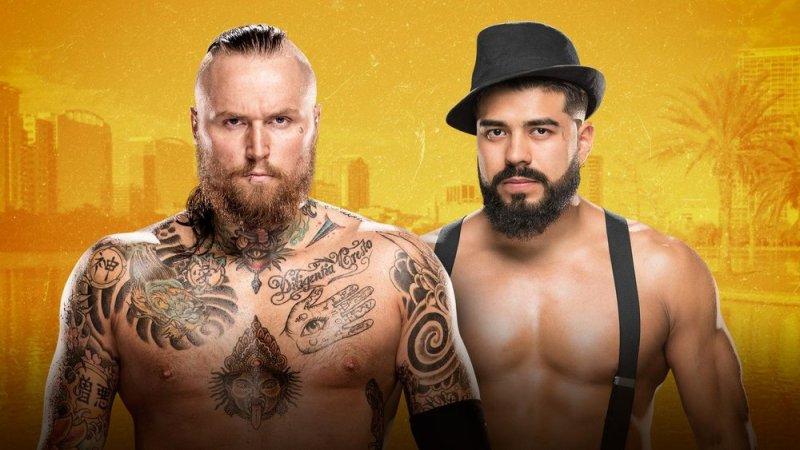 Aleister Black vs Andrade