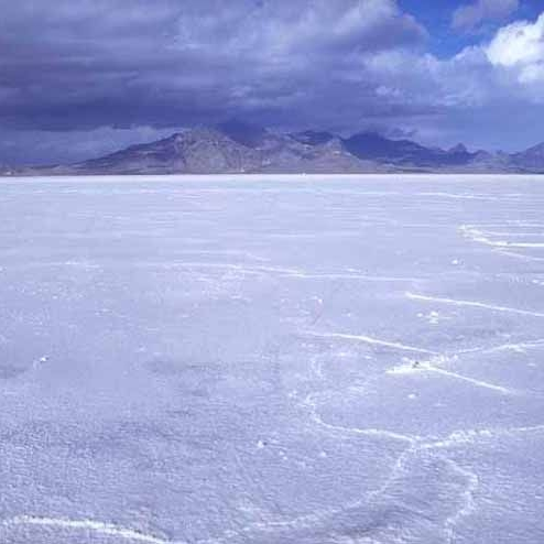 Bonneville Salt Flats. Image by the Bureau of Land Management