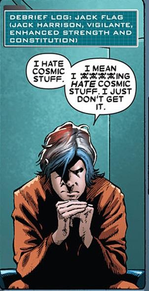I blame Jar-Jar Binks for Jack's bad attitude. (Art by Brad Walker)
