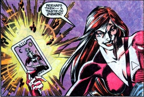 """Um…how about """"A Taste of Italy?"""" Go halves on a pie? (Art by Mark Bagley)"""