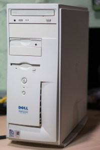 Photo of the actual Dell Dimension XPS r400