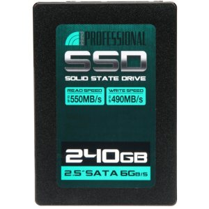 Stock image of Inland 240 GB SSD