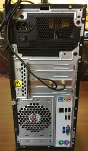 HP P6140f rear