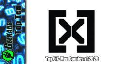 Top 5 X-Men Comics of 2020 Feature Image (New X Logo)
