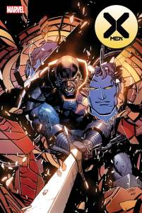 X-Men #7 Cover Art by Leinil Francis Yu and Sunny Gho