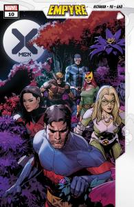 X-Men #10 Empyre Cover Art by Leinil Francis Yu and Sonny Gho