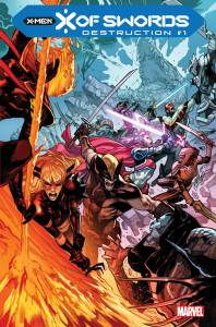 X of Swords Destruction #1 Cover Art by Pepe Larraz and Marte Gracia