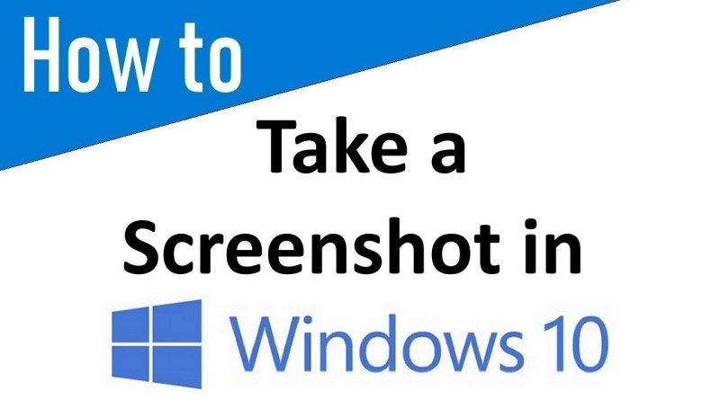 How to Take a Screenshot and Bring it Into Paint on Windows 10 - youtube