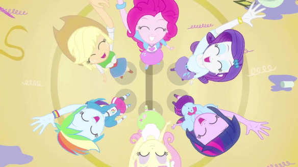 Equestria_Girls_main_cast_cheering_down-shot_circle