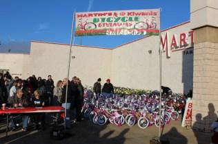 Kiwanis & Martin's Bicycle Giveaway (21)