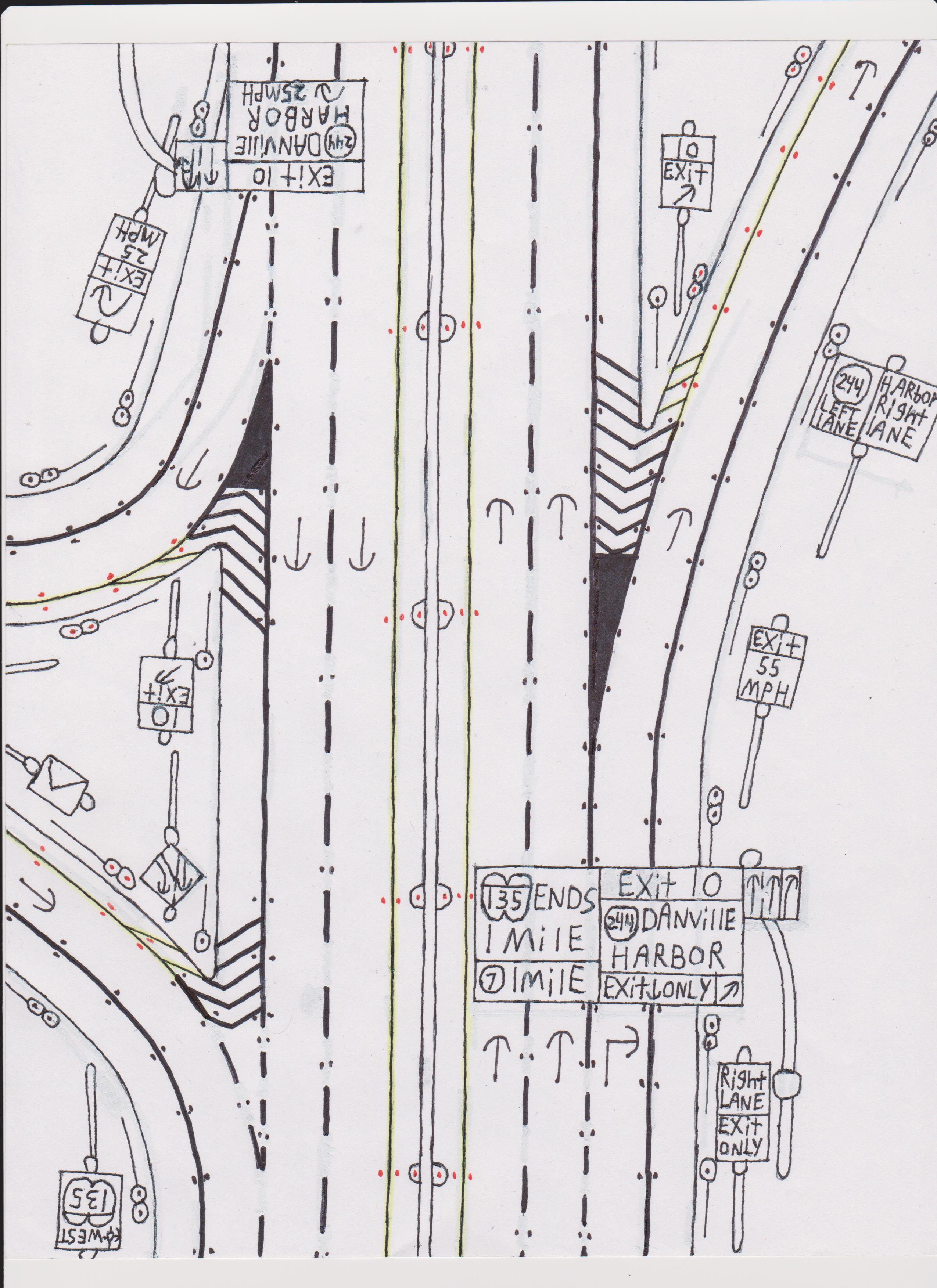 How I Draw My Roads Geek Alabama