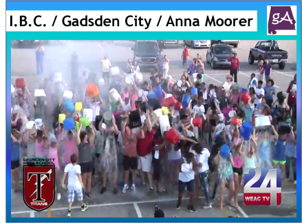 View Ice Bucket Challenge Videos From The Gadsden City Band And Anna-Marie Moorer