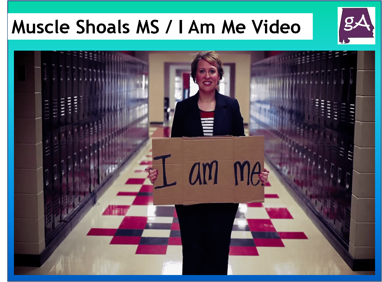 Watch The Inspiring Muscle Shoals Middle School I Am Me