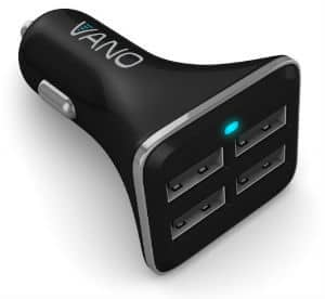 Car Charger - Untamable 4 Port USB Cell Phone Charger From Vano