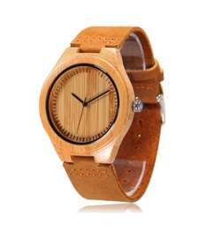 CUCOL Natural Bamboo Wooden Watch
