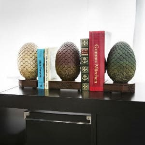 Dark Horse Deluxe Game of Thrones Dragon Egg Bookends