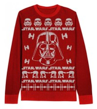 Star Wars Darth Vader Adult Red Sweater