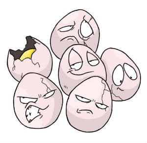 pokebominations - exeggcute