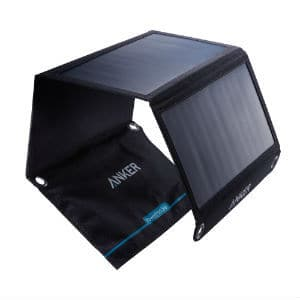 Anker 21w 2 Port Usb Universal Powerport Solar Charger