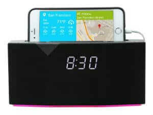 WITTI Design BEDDI Smart Radio Alarm Clock Speaker