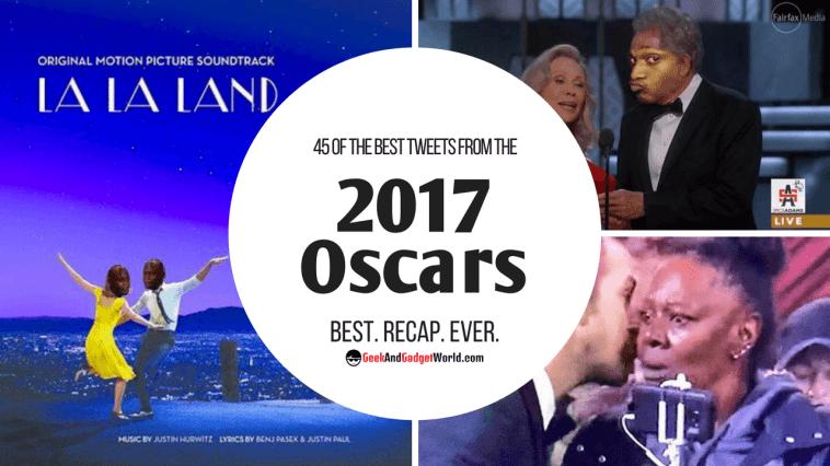 Best 2017 Oscars Tweets