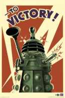 Doctor Who Dalek To Victory Poster