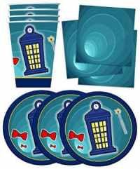 Doctor Who Inspired Birthday Party Supplies