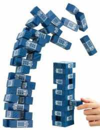 Doctor Who TARDIS Tumbling Tower Game