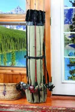 Fishing Rod Case Organizer