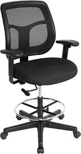Eurotech Apollo Mesh Drafting Chair