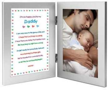 New Dad Sweet Poem In Double Frame