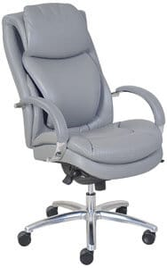Serta 45451 Wellness By Design Air Commercial Series 100 Executive Puresoft Faux Leather Chair
