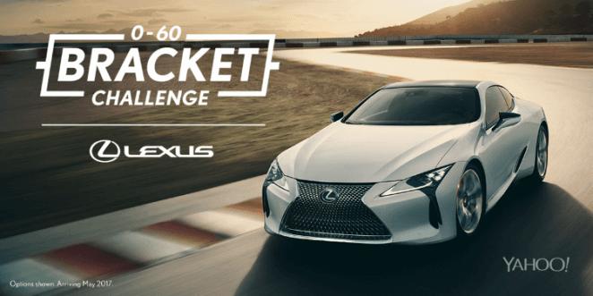 Lexus Bracket Challenge